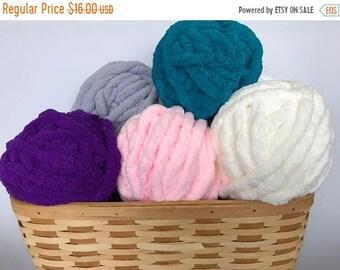 Chunky Knit Chenille Yarn, Chunky Knit Chenille Yarn, Arm Knit Yarn, Baby Yarn