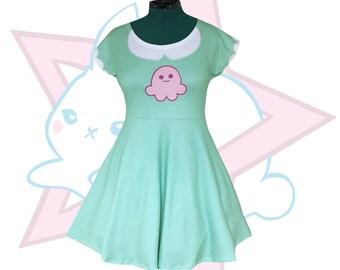 Star Butterfly | Squid Dress |  Star vs. the Forces of Evil | Short Sleeve Skater dress | SVTFOE
