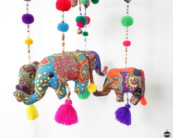 Elephant Crib Hanging, Elephant Crib Mobile, Elephant Mobile, Baby Crib Mobile, Baby Cot Mobile, Baby Crib Hanging, Baby Shower Gift
