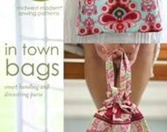20% Off SALE! Amy Butler PATTERN - In Town Bags