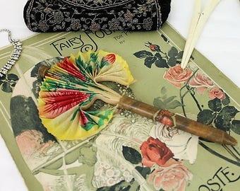 Vintage Cigar Fan/1940's Cigar Fan/Paper Fan/Ephermera/Tobaccina (Ref1935T)