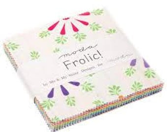 Frolic Charm Pack by Me & My Sister Designs for Moda Fabrics