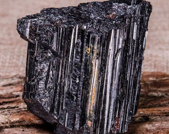 Raw Black Tourmaline,Black Tourmaline Chunk,Raw Gemstone,Purification,Protection,Grounding,TherapyHealing,Mineral Specimen,Special Gift#4105