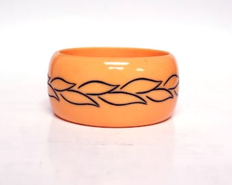 Vintage Resin Bangle, Bracelet , antique jewelry