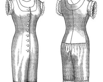 Victorian Combination Sewing Pattern by Truly Victorian