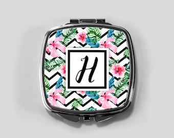 personalized compact mirror, personalized compact, compact mirror, custom bridesmaid gift, custom compact, purse mirror, pocket mirror