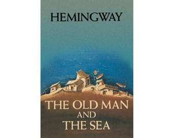 Canvas Art Print - The Old Man and The Sea ( Hemingway)