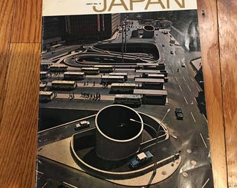 Vintage Japan Ministry of Tourism Publication from 1967