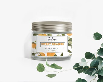 Cosmetic labels - Label Design - Premade label design - Customizable product label - Label design - Product packaging - Soy candles labels