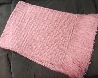 Soft Pink Baby Blanket
