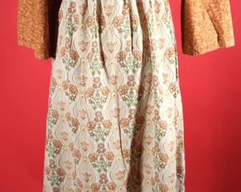 Peasant dress Hippy 1960's flower girl Dress