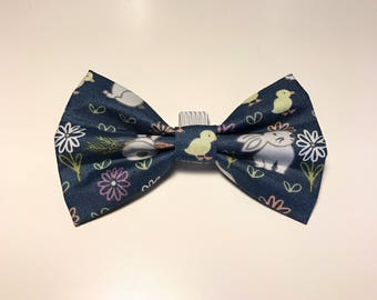 "Spring Collection - ""Some buny loves you"" Bow Tie"