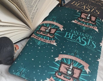 Magical Creatures/ Fantastic Beasts Inspired Bookish Sleeve/Kindle Case