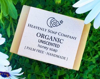 ORGANIC HONEY SOAP (Unscented)