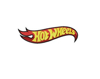 Hot Wheels logo embroidery design / embroidery designs / INSTANT download machine embroidery pattern