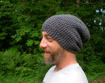 2 DIY Crochet Patterns:  SIMPLE and EASY, The Perfect Slouch and Ribbed Scarf, Men's Accessory Set, P D F InsTanT DOwnLoaD