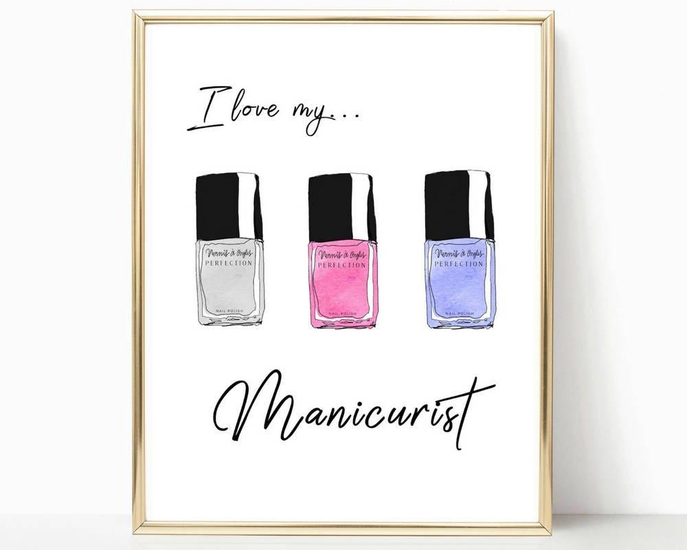 Manicure Quotes And Sayings: Salon Art Nail Polish Beauty Salon Decor Beauty Quotes