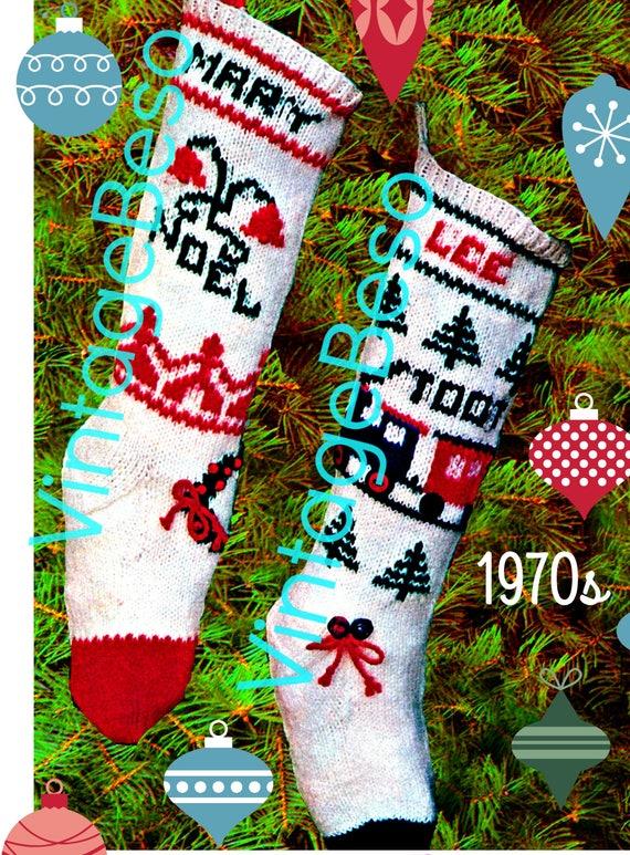 CHRISTMAS Stockings - VintageBeso