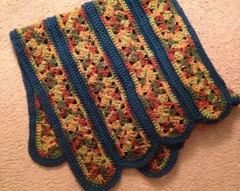 Crochet Baby Blanket - The Look of Stained Glass
