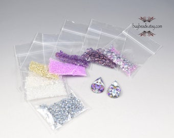Inspiration Kit #43, Polymer Clay, Crystals