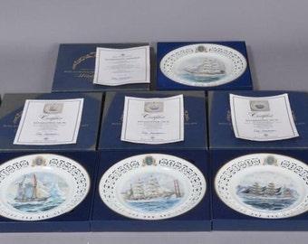 Bing & Grondahl 6x plates of porcelain