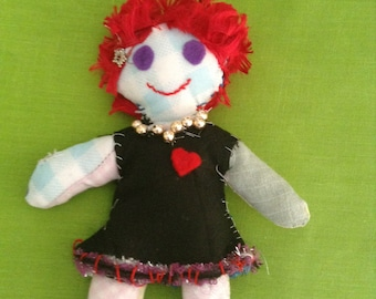 Art doll #5 - Free delivery to the UK