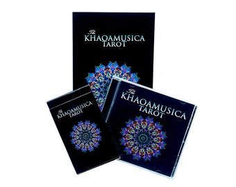 The KHAOAMUSICA Tarot - Card Deck, Music CD & Soft Cover Book package