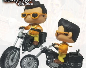 Cheese suit Motorcycle Misha - Custom Funko Pop