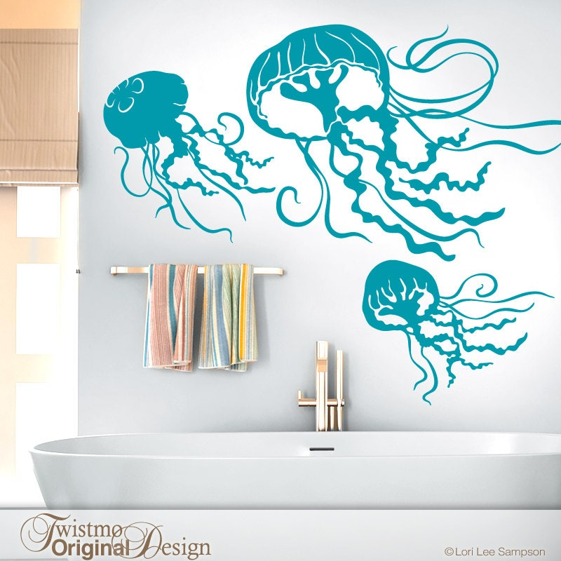 Under the Sea Beach Decor Bathroom Wall Decor Sea Life Wall