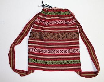 Peruvian Artisan Back Pack Bag