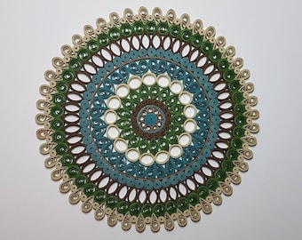 Paper Quilled Mandala - 9x9