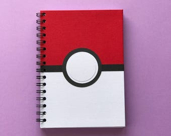 Pokeball A5 Notebook/Journal