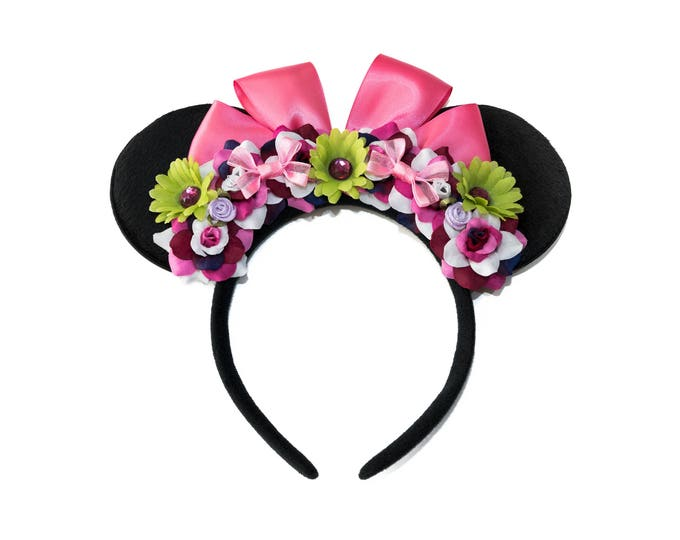Tightrope Girl Mouse Ears Headband