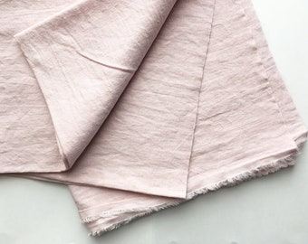 cotton blended linen fabric. japanese light weight tumbler washer fabric. 95cm wide (37.4in). sold by 50cm long (19.6inch). cherry blossom