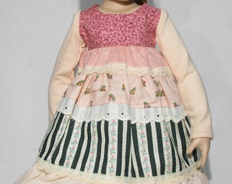 16 inch Kish Dress Calico Cutie