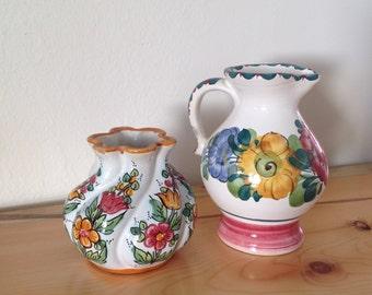 Vase, Handpainted Vase, Knick Knacks