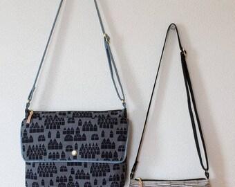 Noodlehead Traverse Bag Paper Pattern, Crossbody Bag, Travel Bag