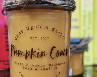 Pumpkin Coach | Cinderella Inspired Bookish Soy Candle