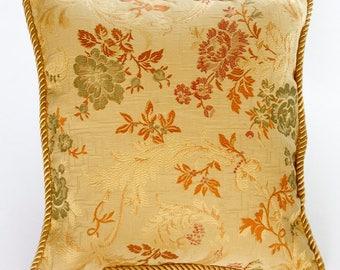 Antique Garden Pillow, Decorative Pillow, Cushions, Throw Pillow, Pillow Cover, Couch Cushions, Accent Pillows