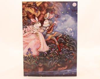 """New! Vintage """"Anniversary"""" by Sunrise. Single Card with Envelope. Shakespeare"""