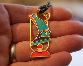 Horus pendant necklace