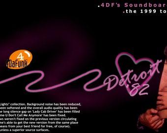 Prince Detroit 1982 CDR (1999 TOUR)