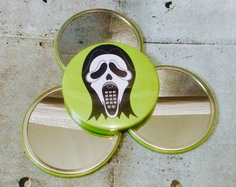 Ghostface Phoneface Pocket Mirror