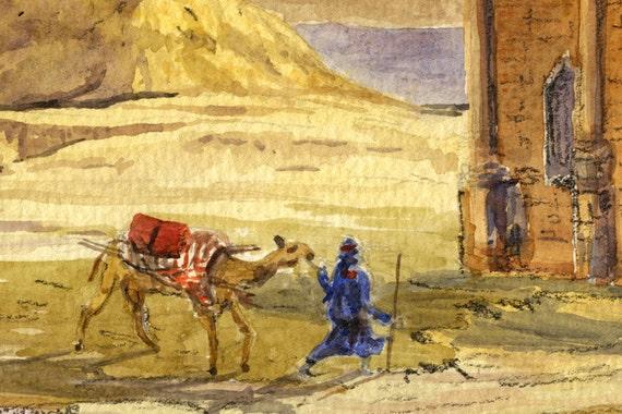 Morocco Arch rabat triumphal arch ruins decor roman ruins
