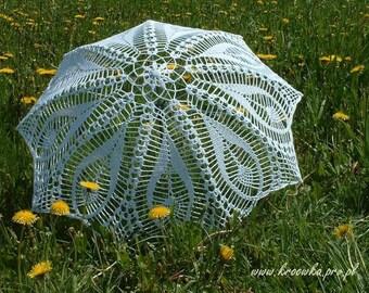 WHITE, IVORY Wedding Umbrella- Lace Umbrella- Victorian Umbrella- Wedding Parasol- Gift for Bride to Be- Victorian Umbrella- Bridal Umbrella