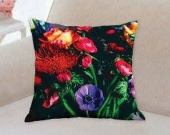 Bouquet/ floral art pillow