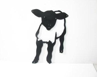 Sheep 007 Metal Farm Wall Yard Art Silhouette