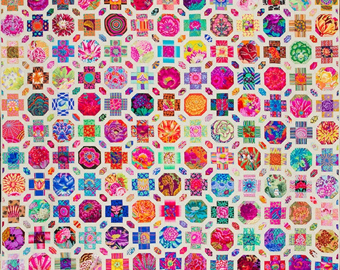 Salute to Levens Hall by Kim McLean - Complete Pack Pattern, Papers, Templates