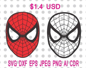 Spiderman logo etsy spiderman logo svg dxf eps png jpg cdr ai cut vector file silhouette cameo cricut design stopboris Image collections