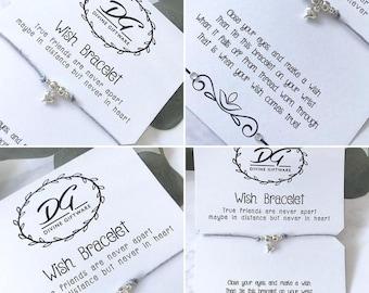True Friends Wish Bracelet Gift Jewellery